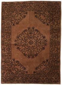Ziegler Moderni Matto 172X241 Moderni Käsinsolmittu Tummanruskea/Ruskea (Villa, Pakistan)