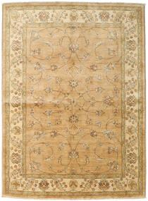 Ziegler Matto 167X227 Itämainen Käsinsolmittu Tummanbeige/Vaaleanruskea (Villa, Pakistan)