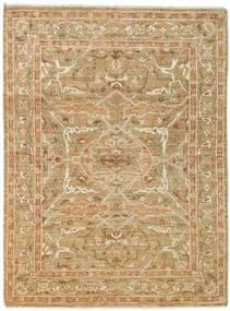 Ziegler Matto 168X225 Itämainen Käsinsolmittu Vaaleanruskea/Tummanbeige (Villa, Pakistan)