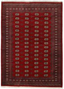 Pakistan Bokhara 2Ply Matto 217X300 Itämainen Käsinsolmittu Punainen/Tummanpunainen/Tummanruskea (Villa, Pakistan)