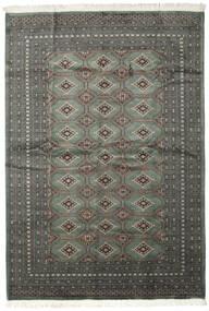 Pakistan Bokhara 2Ply Matto 206X293 Itämainen Käsinsolmittu Tummanharmaa/Musta (Villa, Pakistan)