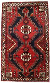 Hamadan Matto 143X238 Itämainen Käsinsolmittu Tummanruskea/Ruoste (Villa, Persia/Iran)