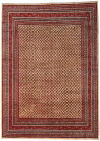 Sarough Mir Matto 289X399 Itämainen Käsinsolmittu Tummanruskea/Tummanpunainen Isot (Villa, Persia/Iran)