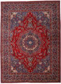 Mashad Matto 290X395 Itämainen Käsinsolmittu Tummanpunainen/Punainen Isot (Villa, Persia/Iran)