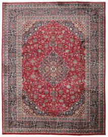 Mashad Matto 300X382 Itämainen Käsinsolmittu Musta/Tummanharmaa Isot (Villa, Persia/Iran)