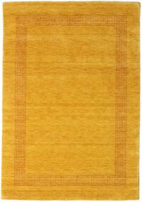 Handloom Gabba - Kulta Matto 140X200 Moderni Oranssi/Keltainen (Villa, Intia)