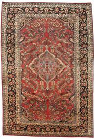 Mahal Matto 238X335 Itämainen Käsinsolmittu Tummanruskea/Tummanpunainen (Villa, Persia/Iran)