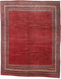 Sarough Mir Matto 290X361 Itämainen Käsinsolmittu Tummanpunainen/Punainen Isot (Villa, Persia/Iran)