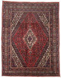 Hamadan Matto 276X358 Itämainen Käsinsolmittu Tummanpunainen/Musta Isot (Villa, Persia/Iran)