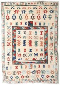 Moroccan Berber - Afghanistan Matto 125X181 Moderni Käsinsolmittu Beige/Vaaleanharmaa (Villa, Afganistan)