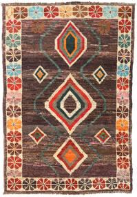 Moroccan Berber - Afghanistan Matto 123X181 Moderni Käsinsolmittu Tummanpunainen/Tummanruskea (Villa, Afganistan)