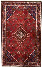 Joshaghan Matto 131X217 Itämainen Käsinsolmittu Tummanpunainen/Musta (Villa, Persia/Iran)