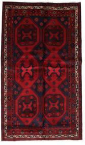 Lori Matto 150X254 Itämainen Käsinsolmittu Tummanpunainen/Punainen (Villa, Persia/Iran)