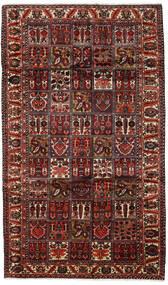 Bakhtiar Matto 169X289 Itämainen Käsinsolmittu Tummanruskea/Tummanpunainen (Villa, Persia/Iran)
