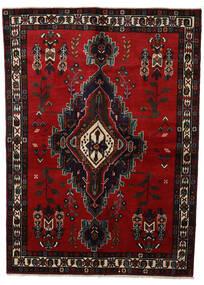 Afshar Matto 160X220 Itämainen Käsinsolmittu Tummanruskea/Tummanpunainen (Villa, Persia/Iran)