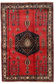 Afshar Matto 167X251 Itämainen Käsinsolmittu Tummanruskea/Ruoste (Villa, Persia/Iran)