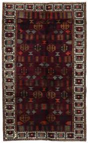 Lori Matto 148X244 Itämainen Käsinsolmittu Tummanpunainen/Tummanharmaa (Villa, Persia/Iran)