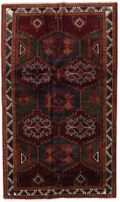 Lori Matto 142X240 Itämainen Käsinsolmittu Tummanpunainen/Tummanruskea (Villa, Persia/Iran)