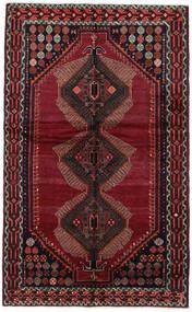 Lori Matto 150X244 Itämainen Käsinsolmittu Tummanpunainen (Villa, Persia/Iran)