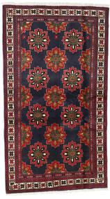 Beluch Matto 106X184 Itämainen Käsinsolmittu Tummanharmaa/Tummanpunainen (Villa, Persia/Iran)