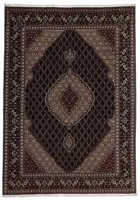 Tabriz 40 Raj Matto 207X292 Itämainen Käsinsolmittu (Villa/Silkki, Persia/Iran)