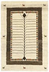 Gabbeh Persia Matto 118X177 Moderni Käsinkudottu Beige/Tummanruskea (Villa, Persia/Iran)