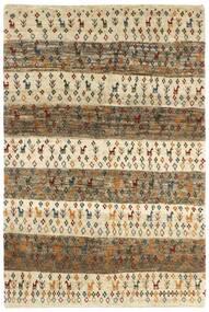 Gabbeh Persia Matto 120X179 Moderni Käsinsolmittu Vaaleanruskea/Tummanbeige (Villa, Persia/Iran)