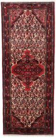 Asadabad Matto 76X196 Itämainen Käsinsolmittu Käytävämatto Tummanpunainen (Villa, Persia/Iran)
