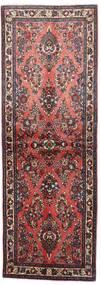 Sarough Matto 76X220 Itämainen Käsinsolmittu Käytävämatto Tummanruskea/Ruskea (Villa, Persia/Iran)