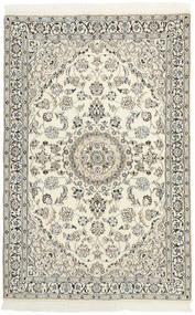 Nain 9La Matto 118X179 Itämainen Käsinsolmittu Beige/Vaaleanharmaa (Villa/Silkki, Persia/Iran)