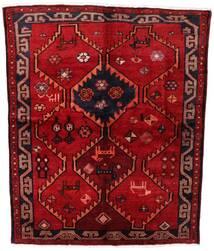 Lori Matto 158X195 Itämainen Käsinsolmittu Tummanpunainen/Ruoste (Villa, Persia/Iran)