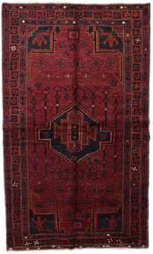 Lori Matto 137X235 Itämainen Käsinsolmittu Tummanpunainen (Villa, Persia/Iran)