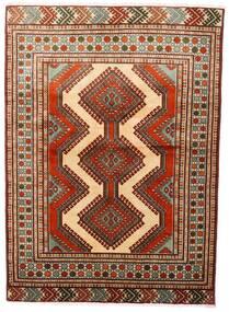 Turkaman Matto 125X172 Itämainen Käsinsolmittu Tummanpunainen/Tummanruskea (Villa, Persia/Iran)