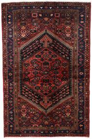 Hamadan Matto 135X203 Itämainen Käsinsolmittu Tummanpunainen (Villa, Persia/Iran)