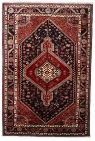 Hamadan Matto 108X163 Itämainen Käsinsolmittu Tummanpunainen (Villa, Persia/Iran)