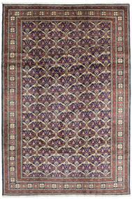 Keshan Matto 198X292 Itämainen Käsinsolmittu Tummanharmaa/Vaaleanharmaa (Villa, Persia/Iran)