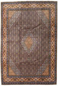 Ardebil Matto 200X293 Itämainen Käsinsolmittu Tummanruskea/Tummanpunainen (Villa, Persia/Iran)