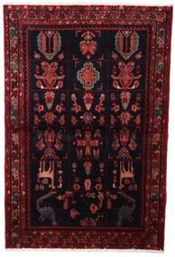 Asadabad Matto 107X160 Itämainen Käsinsolmittu Tummanpunainen (Villa, Persia/Iran)