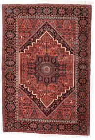 Gholtogh Matto 100X145 Itämainen Käsinsolmittu Tummanpunainen/Beige (Villa, Persia/Iran)