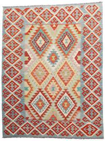 Kelim Afghan Old Style Matto 157X202 Itämainen Käsinkudottu Tummanharmaa/Vaaleanharmaa (Villa, Afganistan)