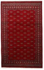 Pakistan Bokhara 3Ply Matto 201X315 Itämainen Käsinsolmittu Punainen/Tummanpunainen (Villa, Pakistan)