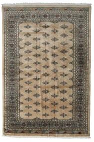 Pakistan Bokhara 3Ply Matto 168X248 Itämainen Käsinsolmittu Vaaleanharmaa/Tummanharmaa/Vaaleanruskea (Villa, Pakistan)