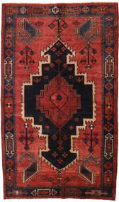 Lori Matto 147X248 Itämainen Käsinsolmittu Tummanpunainen/Musta/Ruoste (Villa, Persia/Iran)