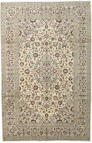 Keshan Matto 198X307 Itämainen Käsinsolmittu Vaaleanharmaa/Beige (Villa, Persia/Iran)