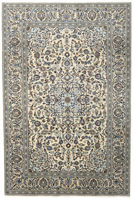 Keshan Matto 197X295 Itämainen Käsinsolmittu Tummanharmaa/Vaaleanharmaa/Beige (Villa, Persia/Iran)