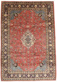 Sarough Matto 208X297 Itämainen Käsinsolmittu Tummanpunainen/Ruoste (Villa, Persia/Iran)