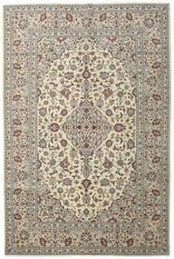 Keshan Matto 198X296 Itämainen Käsinsolmittu Vaaleanharmaa/Beige (Villa, Persia/Iran)