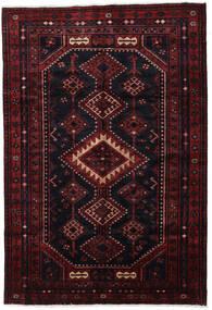Lori Matto 170X244 Itämainen Käsinsolmittu Tummanpunainen (Villa, Persia/Iran)