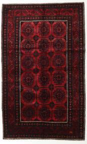 Lori Matto 155X250 Itämainen Käsinsolmittu Tummanruskea/Tummanpunainen (Villa, Persia/Iran)