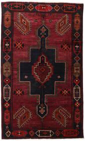 Lori Matto 145X242 Itämainen Käsinsolmittu Tummanpunainen (Villa, Persia/Iran)
